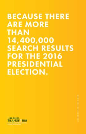 Because there are more than 14,400,000 search results for the 2016 Presidential election