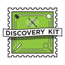 Discovery Kit Logo - Oak Park Public Library