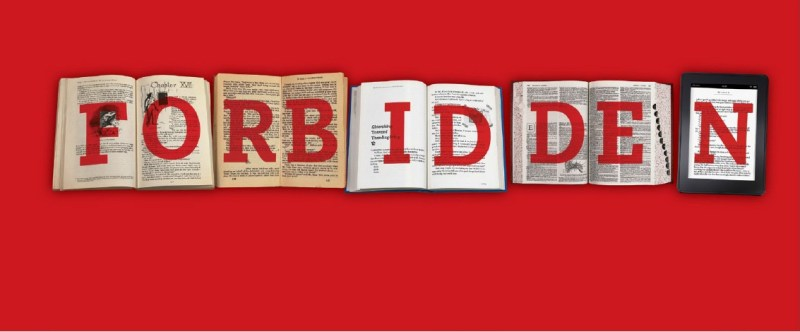 Banned Books Week - Forbidden Poster