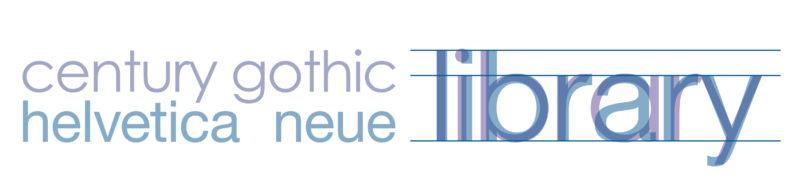 Craighead County Jonesboro Font - Century Gothic vs. Helvetica Neue
