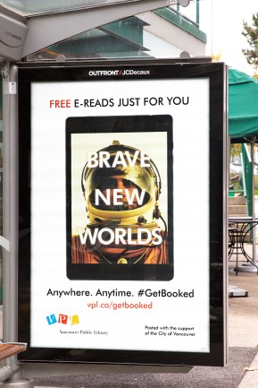 Get Booked - Brave New Worlds