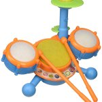 toddler learning drum set