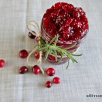 homemade cranberry sauce has the right combination of sweetness and tartness