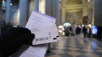 Karcis masuk Pantheon