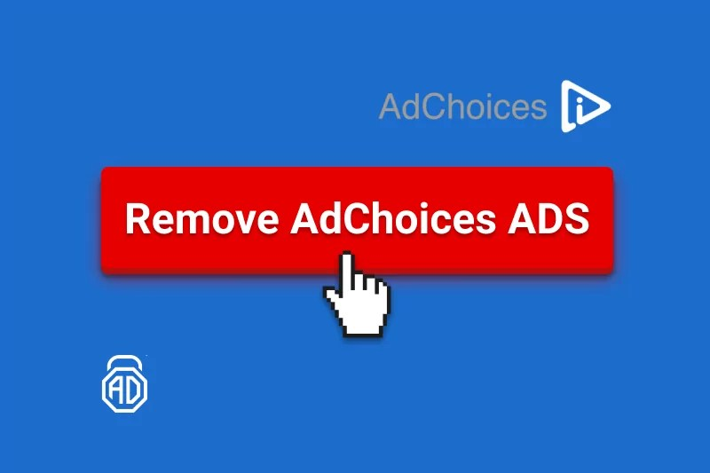 how to remove adchoices