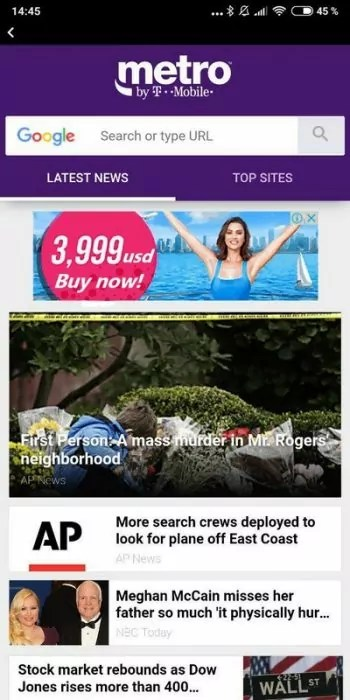 What to do to stop MetroPCS' MetroZone from popping in