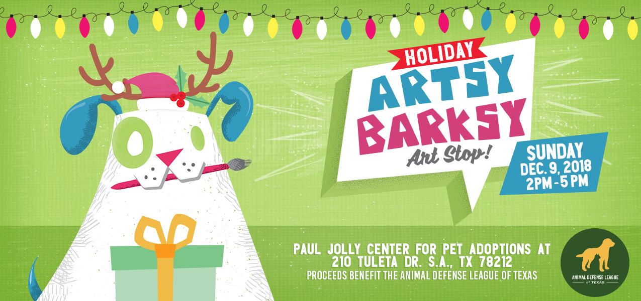 Artsy Barksy Holiday Event Market - Paul Jolly