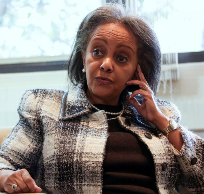"""Meet Ethiopia's first female president about to put in """"Work"""""""