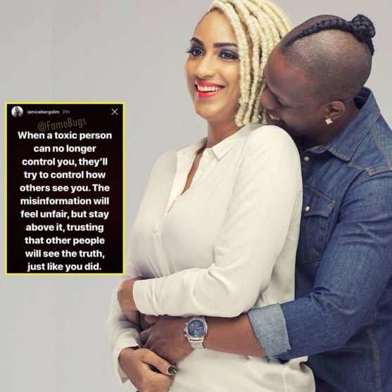 """Juliet Ibrahim was a """"toxic and controlling person""""- Iceberg Slim"""