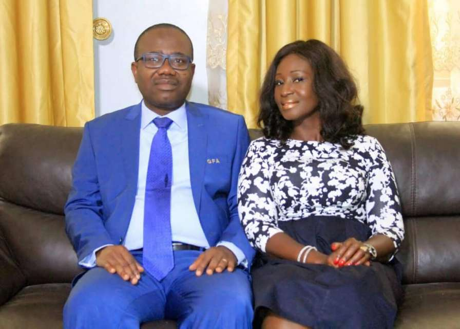 Kwesi Nyantakyi's first wife 'pleads and begs' Ghanaians to stop insulting her husband, believes he was under a spell.