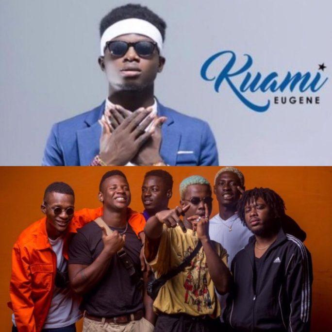 "#AFRIMA2018: Kuami Eugene or La Même Gang, who deserved ""Most Promising Artist Of The Year""? Ghana twitter debates"