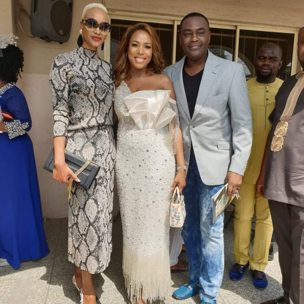 Photos: Stars attend dedication and thanksgiving service for Linda Ikeji's son, Jayce