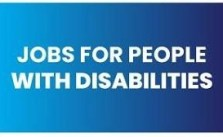 Jobs for people with disabilities 2021 Is Open