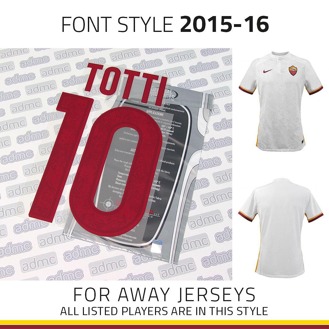 e864210e46c 2015/16 AS Roma Away Kits - ADMC LLC