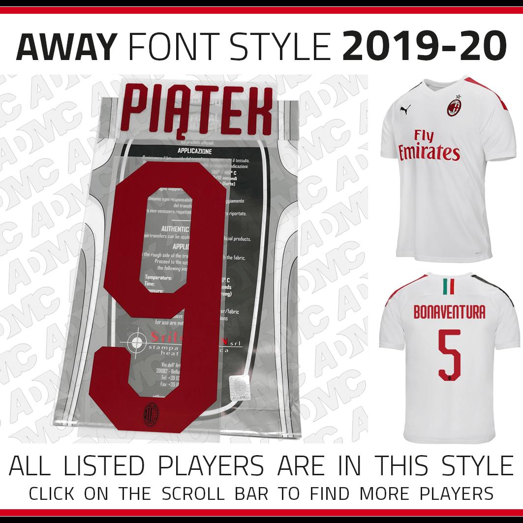 on sale 66311 68388 2018/19/20 AC Milan away Kits