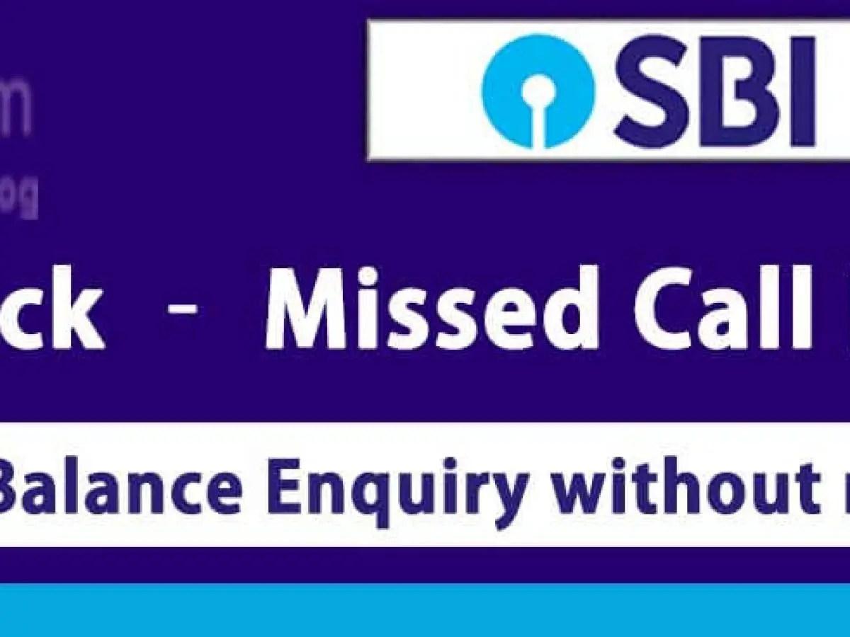 Sbi Bank Balance Enquiry App Sbi Quick Sbi Balance Check App