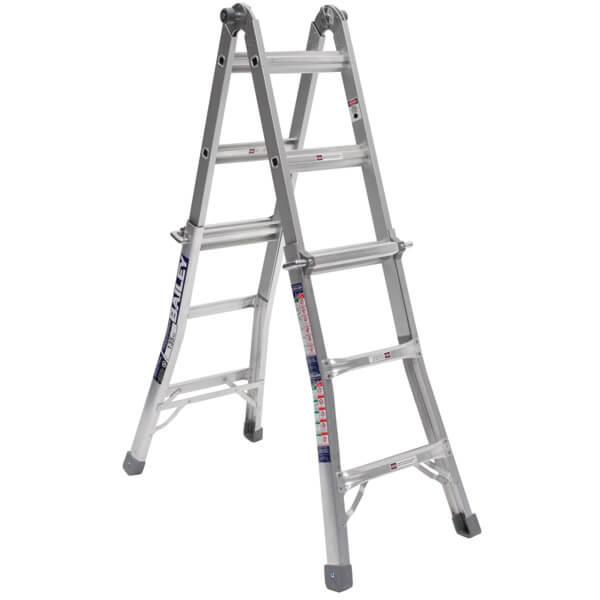 Bailey 1.7-3.3m Multi-Purpose 135kg Aluminium Ladder BX S