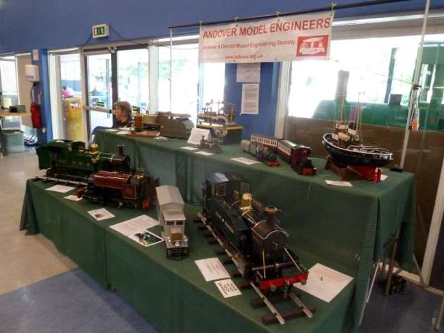 ADMES @ Modelex 2018 – Andover & District Model Engineering Society