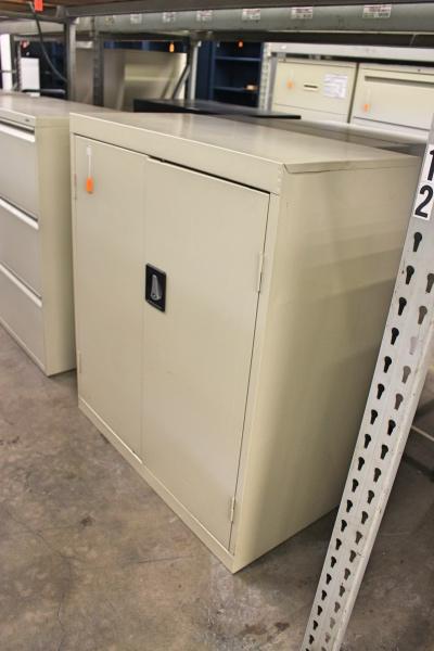 Short 2 Door Storage Cabinet  Storage Cabinets  A
