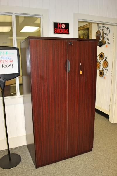 2 door short storage cabinet  NEW Inventory  A