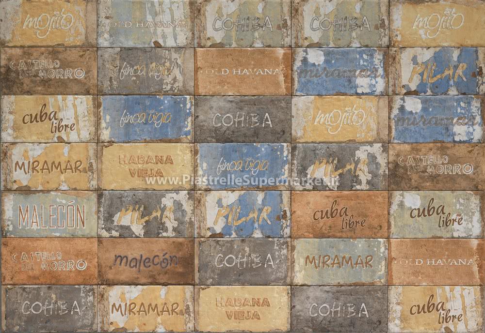 Serenissima Cir  Havana 10x20 Cuba Libre mix una delle numerose proposte online di Piastrelle