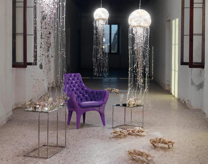 Lampada Design Medusa   Fior di Loto Riccione