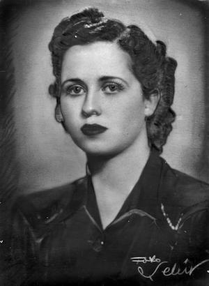 Madam Maria gençlik yıllarında