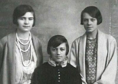 Mustafa Kemal'in manevi kızları Zehra Aylin, Afet İnan ve Sabiha Gökçen