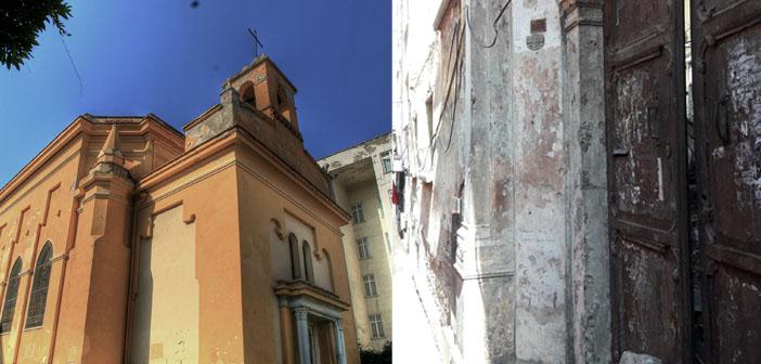 Bursa'da iki kilisenin başına gelenler