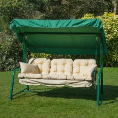Swing Chair Replacement Plastic Outdoor Dining Chairs Alfresia Luxury Garden Seat Cushions 3 Seater Ebay