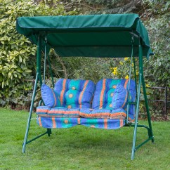 Swing Chair Replacement Covers Hire Durban Garden 2 Seater Seat Hammock Cushion Set