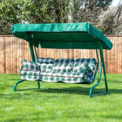Swing Chair Replacement Cover Hire Wrexham Alfresia Luxury Garden Seat Cushions 3 Seater Ebay