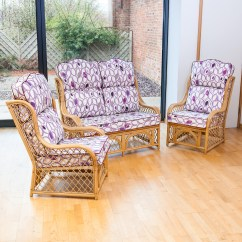 High Back Wicker Chair Cushions Reupholster Cushion Diy Alfresia Conservatory Replacement Cane