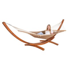 Chair Hammock Stand Uk Cover Rentals Kelowna Alfresia Garden Patio Double Quilted Coffee With