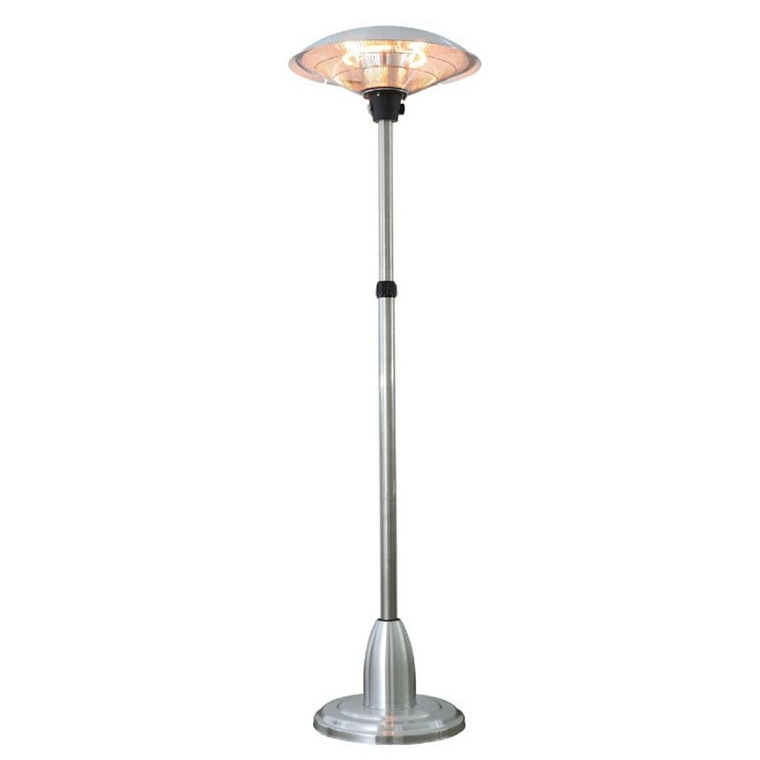Height Adjustable Halogen Electric Patio Heater by Fire