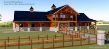 Horse Barn with Apartment
