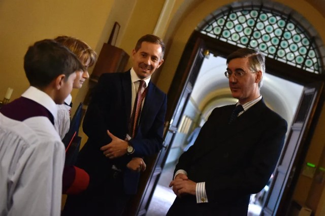 Jacob Rees-Mogg, Leader of the House of Commons, attends the Red Mass. Diocese of Westminster via Flickr.