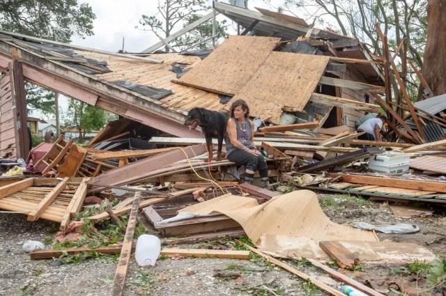 Damage from Hurricane Ida. Diocese of Houma-Thibodeaux