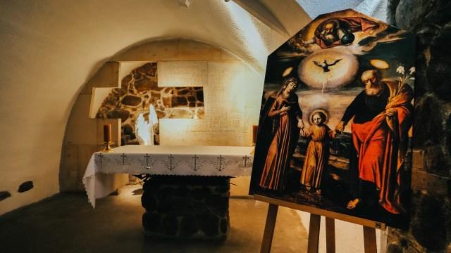 The Chapel of Martyrdom and Gratitude in the crypt of the National Shrine of St. Joseph in Kalisz, Poland. EWTN Polska
