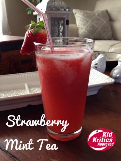 Strawberry Mint Tea