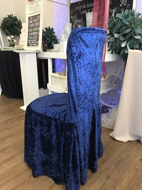 grey crushed velvet chair covers folding buy gallery all dressed up