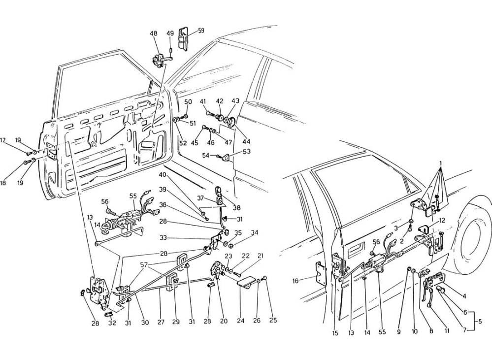 medium resolution of service manual electrical relays schematic 1985 maserati