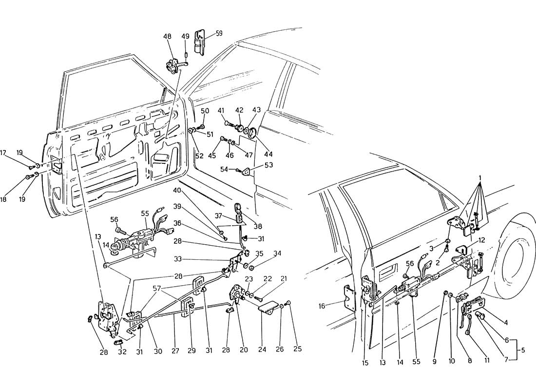 hight resolution of service manual electrical relays schematic 1985 maserati