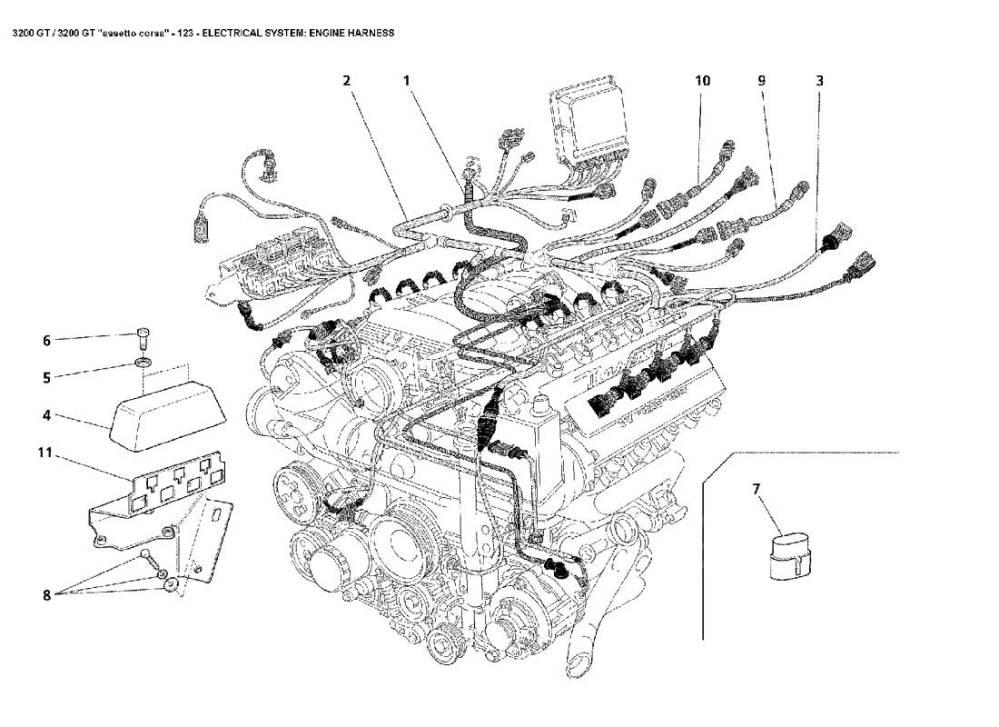 medium resolution of diagram search for maserati 3200 gt ferrparts