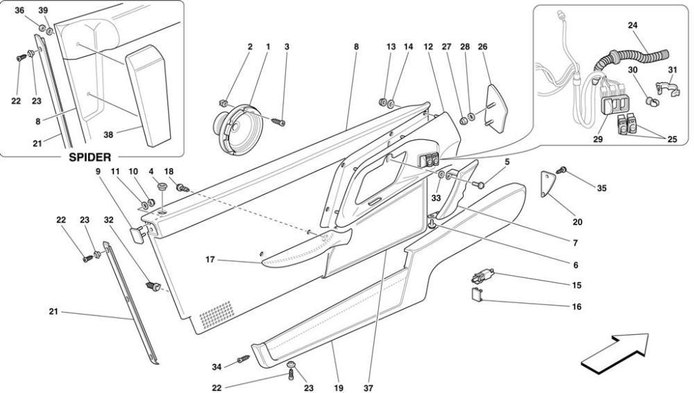 medium resolution of diagram search for ferrari 355 5 2 motronic ferrparts ferrari 355 wiring diagram