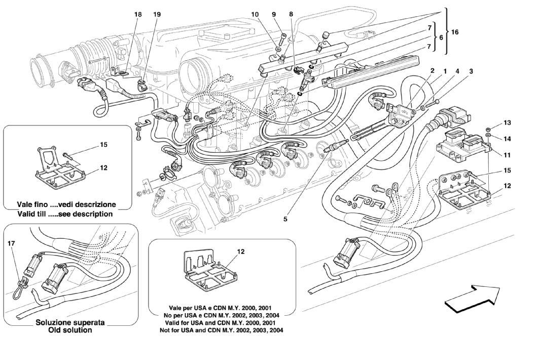 hight resolution of ferrari 360 engine diagram