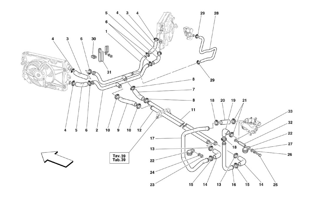 hight resolution of ferrari 360 modena cooling system 024