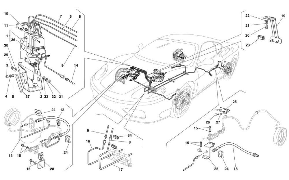 medium resolution of diagram search for ferrari 360 modena ferrparts ferrari 360 engine diagram