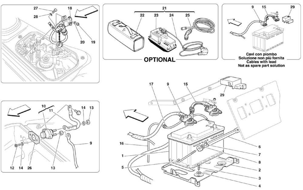 medium resolution of ferrari spider 360 vacuum diagram