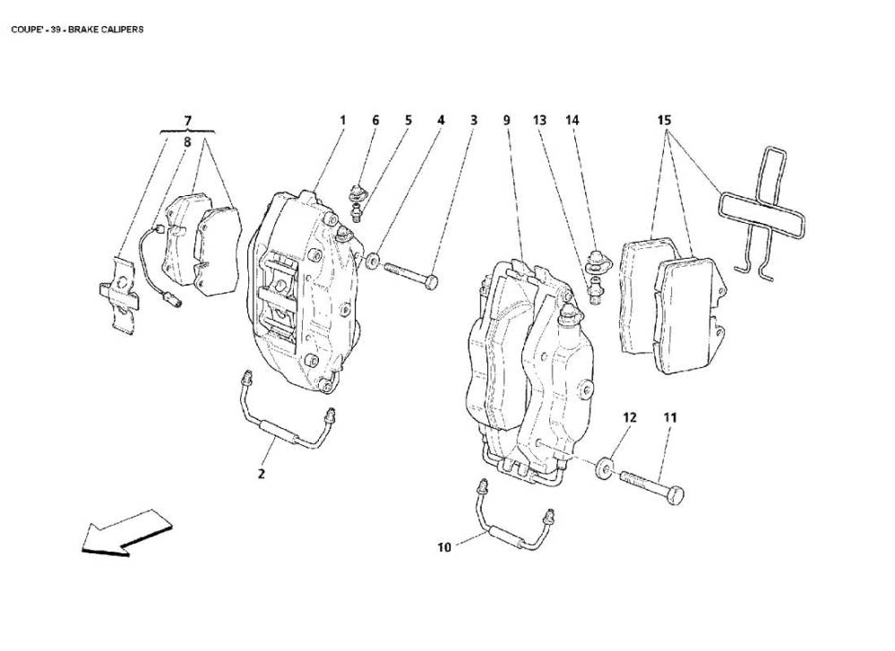 medium resolution of diagram of brake caliper